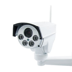 Rotated HD Waterproof Outdoor 3G 4G CCTV Camera / Solar Powered Security Camera