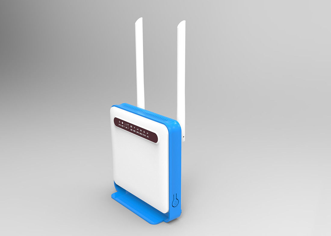 Indoor 4G LTE Wifi Router With Sim Card Slot Support Voip
